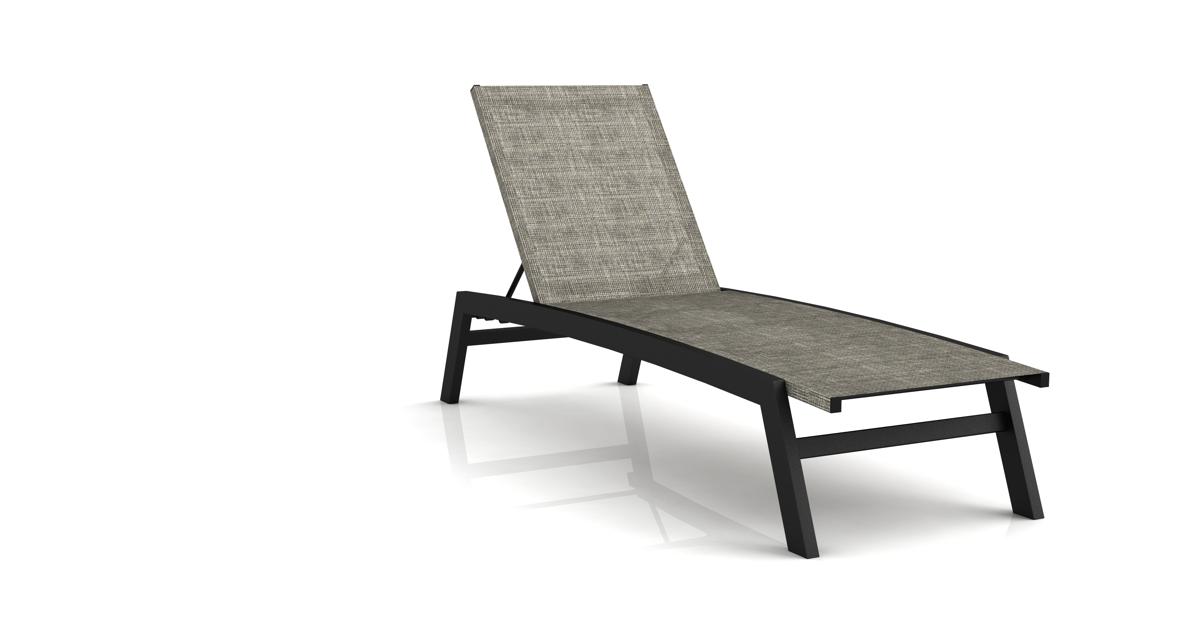 Fabulous Biscayne Aluminum Frame Chaise Lounge Chair Theyellowbook Wood Chair Design Ideas Theyellowbookinfo