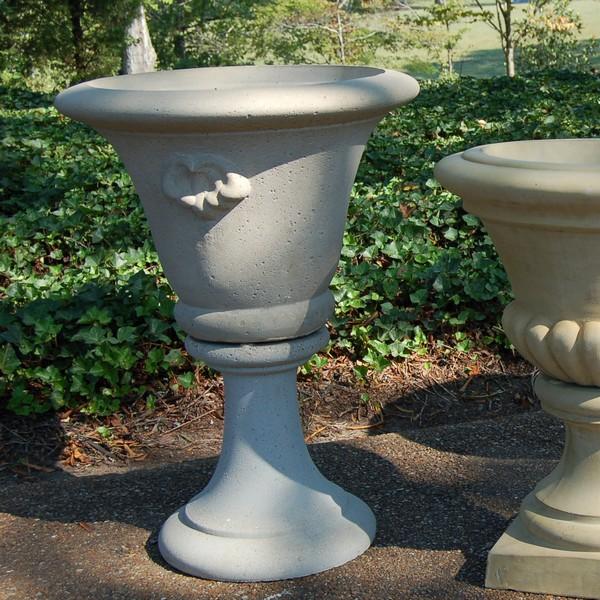 Fine Cast Stone Decorative Garden Urn