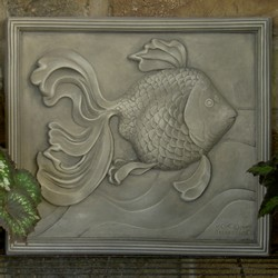 Garden Goldfish Plaque