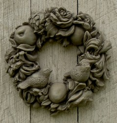 Decorative Wreath With Birds