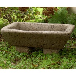 Large Flare Rectangle Garden Trough Planter