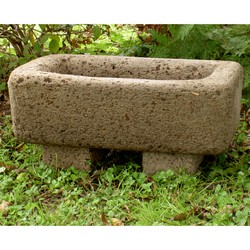 Rectangular English Garden Trough Planter