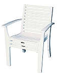 Andure Flex Stacking Arm Chair