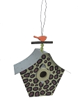 Outdoor Garden Decorative Retro Birdhouse