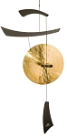 Decorative Black Emperor Gong Wind Chime