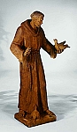 St. Francis With Birds Garden Statue