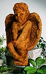 Large Angel Garden Statue