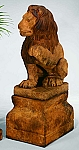 Lion (Left Paw Up) Garden Statue