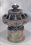 Small Regal Tier Outdoor Cast Stone Garden Fountain