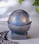 Sphere Outdoor Cast Stone Garden Fountain