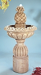 Pina Cascada Outdoor Cast Stone Garden Fountain