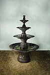 Grande Contemporary Four Tier Outdoor Cast Stone Garden Fountain