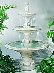 New Large Contemporary Tier Outdoor Cast Stone Garden Fountain
