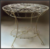 Victorian Wire Dining Table