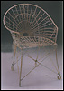 Outdoor English Wire Garden Chair