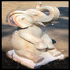 36 Inch Marble Elephant
