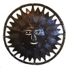 Sun Face Oil Drum Art, 34 Inch