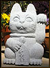 Maneki Neko Granite Fortune Cat 18