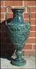34 Inch Greek Bronze Urn / Bronze Planter