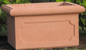 Chelsea Reconstituted Stone Trough Planter With Panels