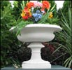 Coade Egg And Dart Stone Urn or Fountain