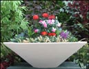 28-48 Inch Essex Cast Stone Round Bowl Planter