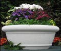30 - 48 Inch Sussex Cast Stone Bowl Planter