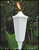 Aluminum Garden Torch (set of two)