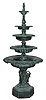 Five Tier Cast Aluminum Fountain