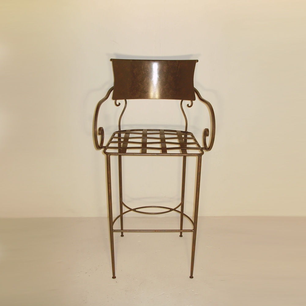Parisian Barstool with Arms
