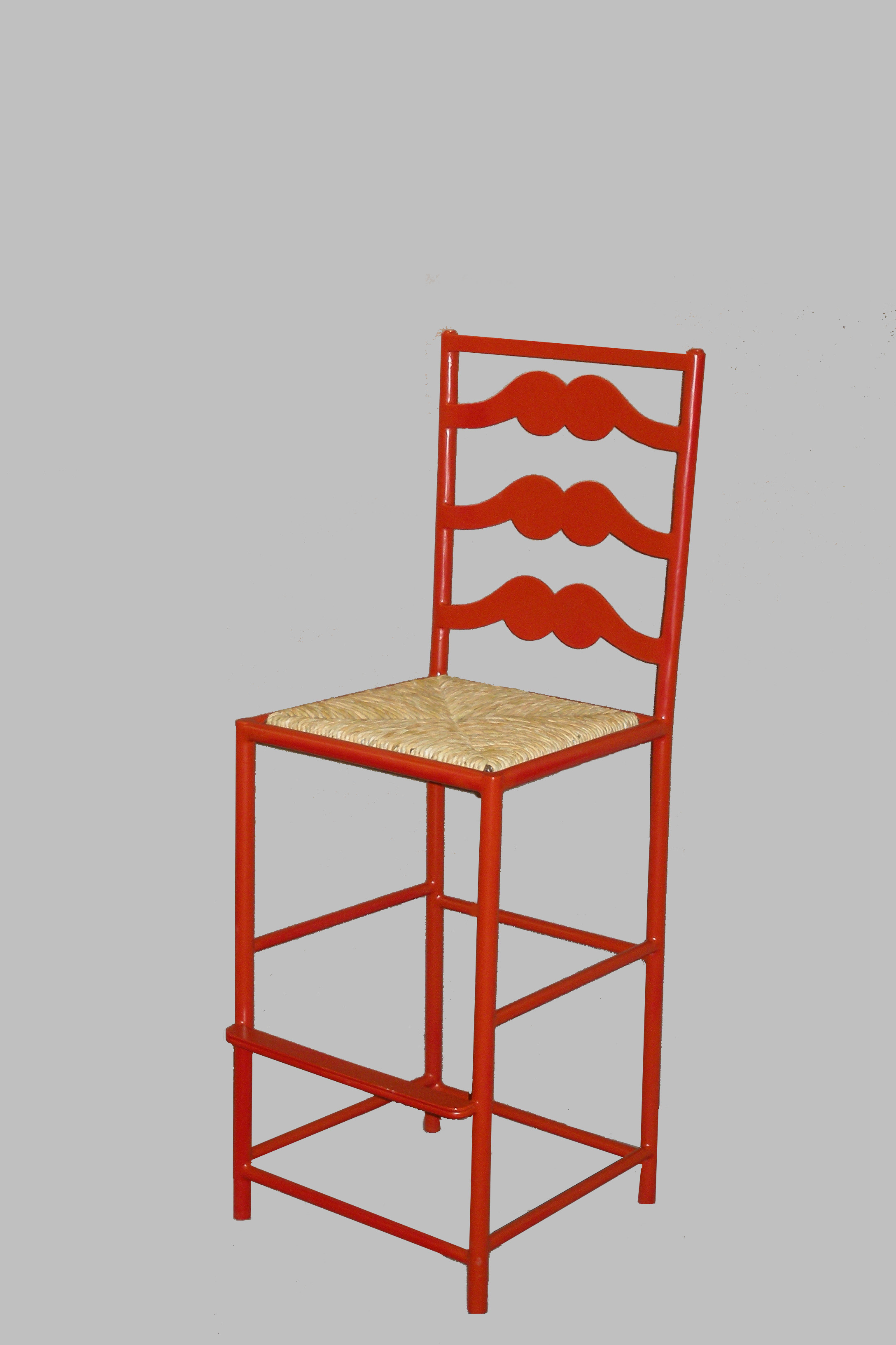 French Ladderback Barstool