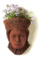 Queen Terracotta Wall Planter