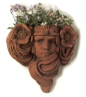 Burlesque Terracotta Wall Planter