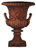 30 Inch Windsor Handle Terracotta Urn