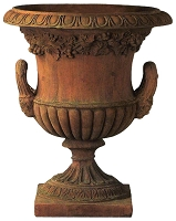 21.75 Inch Blanchard Classic Terracotta Urn With Handles