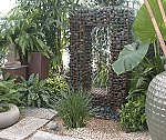 Recycled Eco Friendly Steel Gabion Water Feature