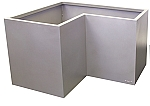 High Corner Recycled Metal Eco Friendly Modular Planter