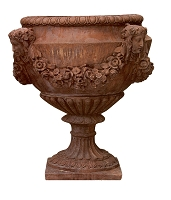 The 32 Inch Buchingham Queen Palace Terracotta Urn