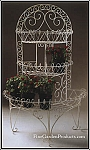 Arched Three Tier Victorian Wire Planter