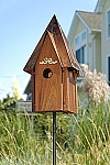 Heartwood Cotswold Mahogany Cottage Bird House