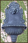 Lion Head Lavabo Wall Planter