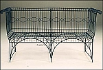 English Wire Garden Bench