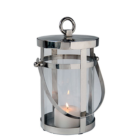 Cottage handle decorative outdoor lantern for Decorating outdoor lanterns