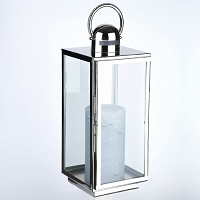 16 Inch Special Events Crystal Handle Candle Lantern