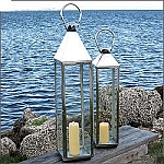Tall Square Decorative Moroccan Outdoor Lantern