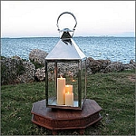 Square Moroccan Decorative Outdoor Lantern