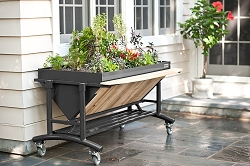Venture Products Grey Slate Lgarden Elevated Gardening System