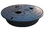 47 Inch Disappearing Water Fountain Underground Round Basin
