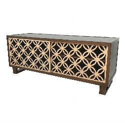 Interlaced Circles Credenza/Media Console