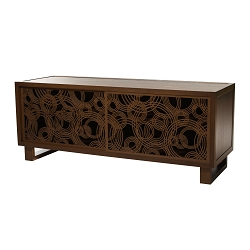 Rain on Water Credenza/Media Console, Espresso/Espresso
